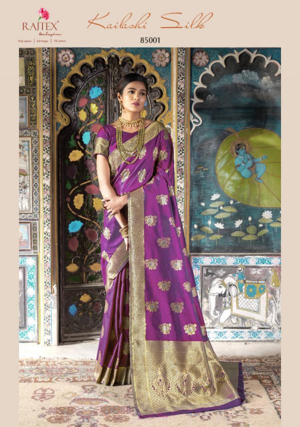 Rajtex Kailashi Silk 85001-85010 Series