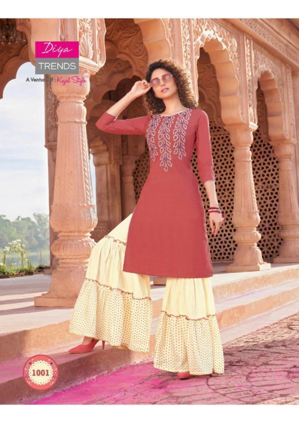 Diya Trendz Bandhej Vol-1 1001-1012 Series