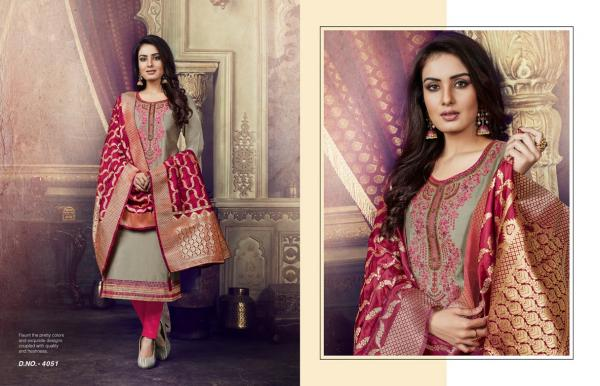 Kessi Fabric Virasat Vol-3 4051-4060 Series