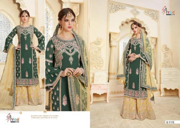 Shree Fabs Shehnai Bridal Collection Vol-22 6110-6113 Series