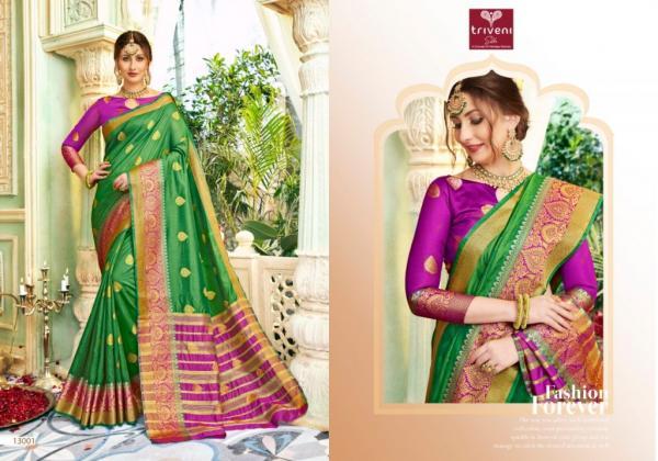 Triveni Saree Barghavi 13001-13008 Series