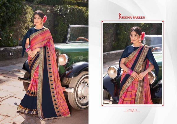 Seema Saree Rupa Vol-2 4001-4010 Series