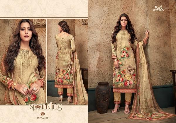 Bela Fashion Kesari 558-564 Series