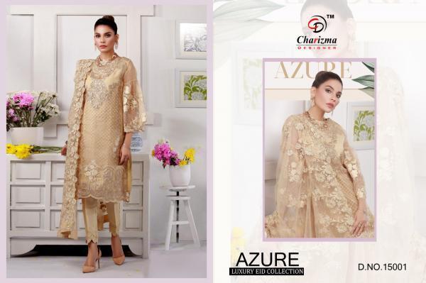 Charizma Designer Azure Luxury Eid Collection 15001-15005 Series
