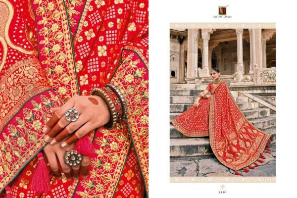 MN Saree Raj Gharana 5801-5819 Series