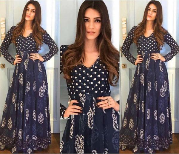 Bollywood Style Printed Gown LG-1268