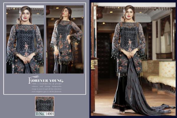 Cyra Fashion Shakina Vol-1 14001-14004 Series