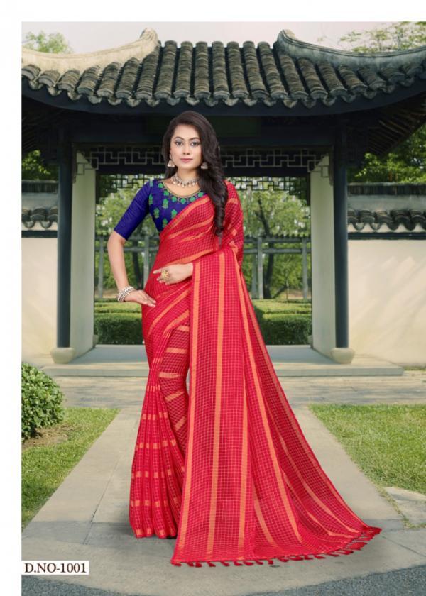 Mansarover Fashion Shreenidhi Vol-1 1001-1006 Series.