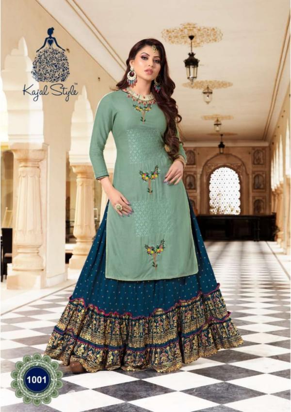 Kajal Style Fashion Holic Vol-1 1001-1008 Series