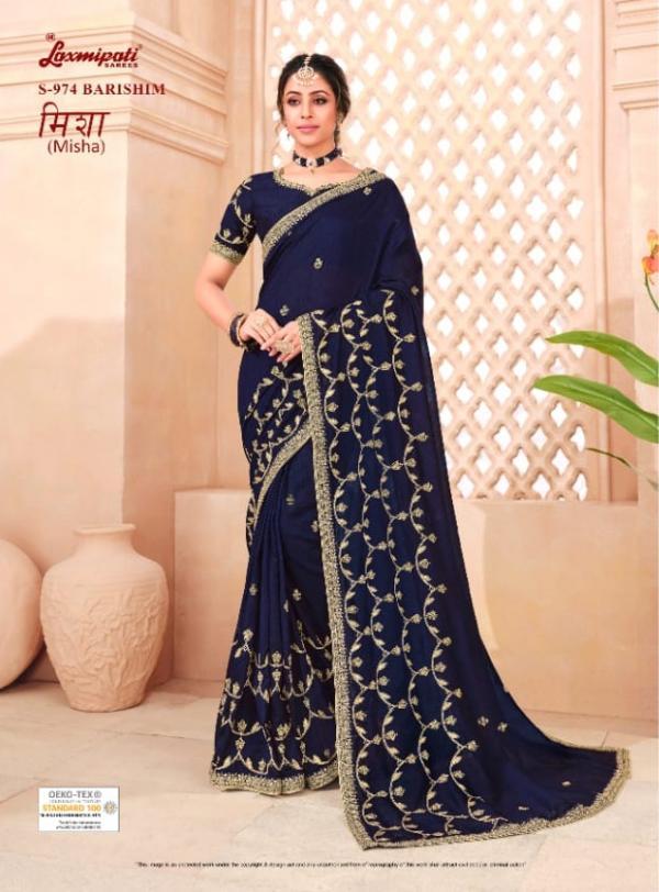 LaxmiPati Saree Misha 974-989 Series