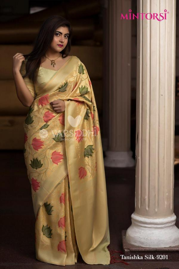 Mintorsi Tanishka Silk 9201 Designer Festive Saree