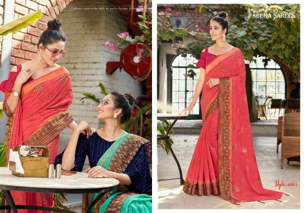 Seema Saree Thala 4001-4008 Series