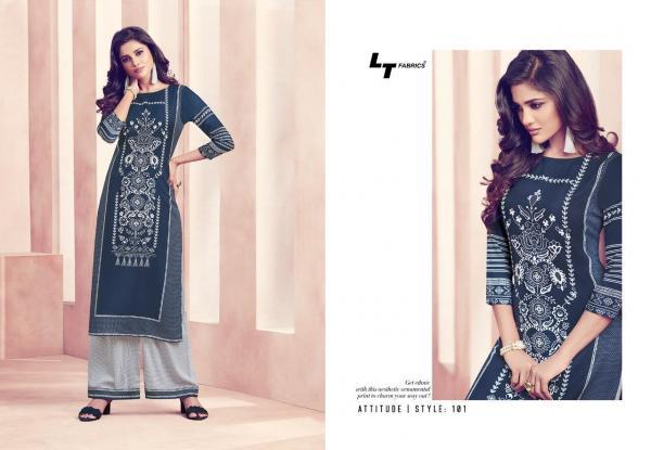 LT Fabrics Nitya Attitude Style 101-Style 109 Series