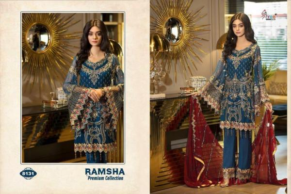 Shree Fabs Ramsha Premium Collection 8131-8136 Series