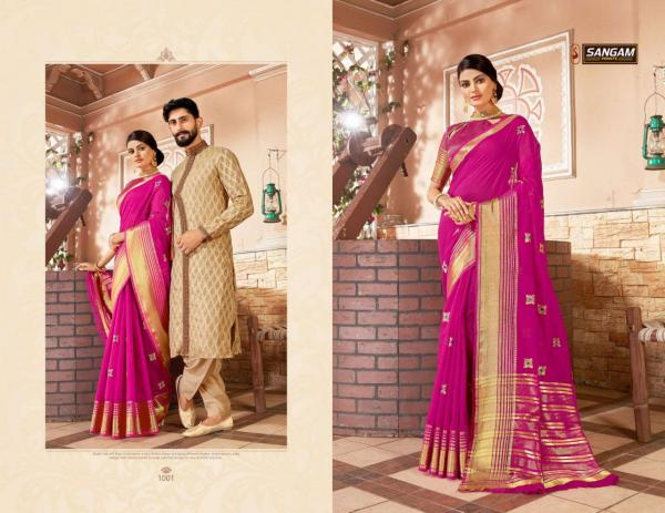 Sangam Prints Zoya 1001-1008 Series