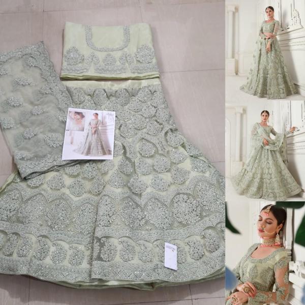 Alizeh Bridal Heritage Colour Saga Vol-1 1002 Real Image