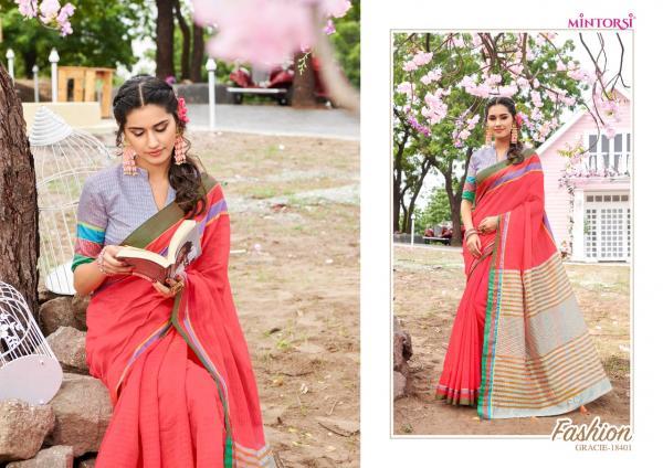 Varsiddhi Fashions Mintorsi Gracie 18401-18412 Series