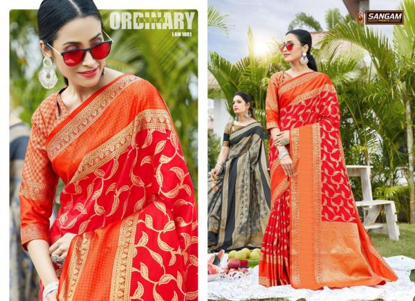 Sangam Saree Anushka 1001-1006 Series