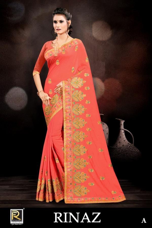 Ranjna Saree Rinaz Colors