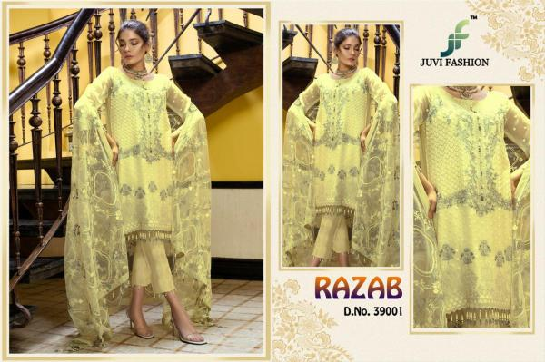 Juvi Fashion Razab Embroidered Collection Super Hit Designs 39001-39005 Series