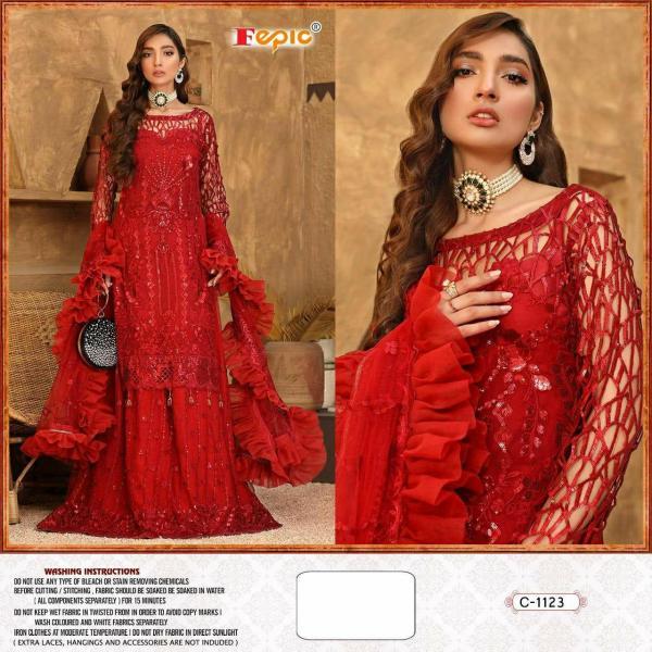 Fepic Rosemeen C-1123 Dress Material