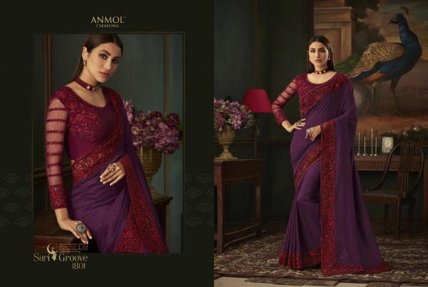 Anmol Saree Shades Vol-111 1801-1818 Series