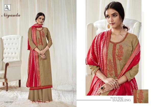 Alok Suits Niyanta 662-001-662-008 Series