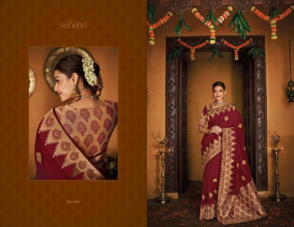 Kimora Fashion Sunehri Vol-12 1101-1118 Series