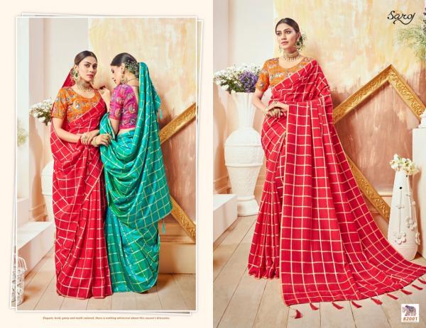 Saroj Saree Raj Kumari 82001-82006 Series
