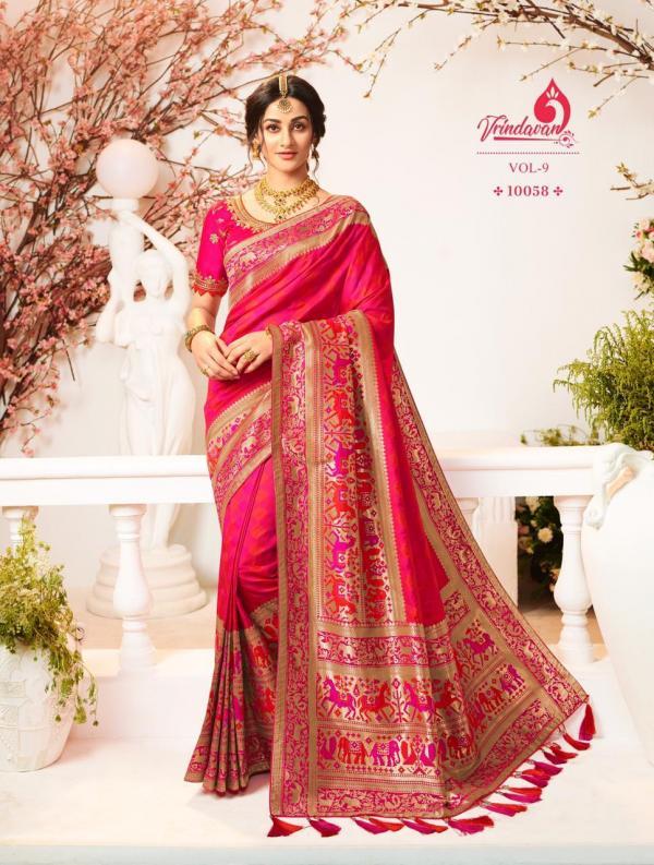 Royal Saree Vrindavan Vol-9 10058-10072 Series
