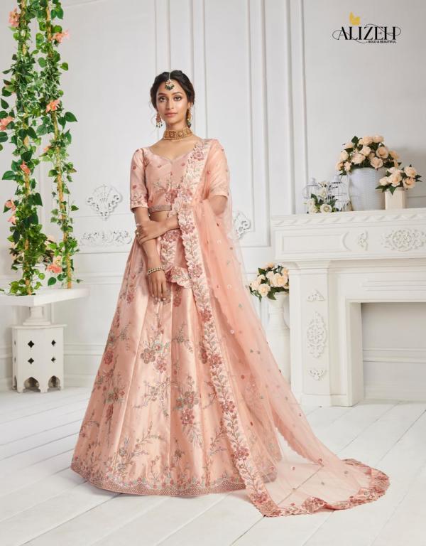 Alizeh Wedding Lehengas Sangeet Vol-1 1016-1019 Series