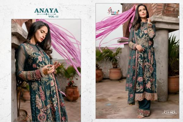 Shree Fabs Anaya Vol-11 1136-1140 Series