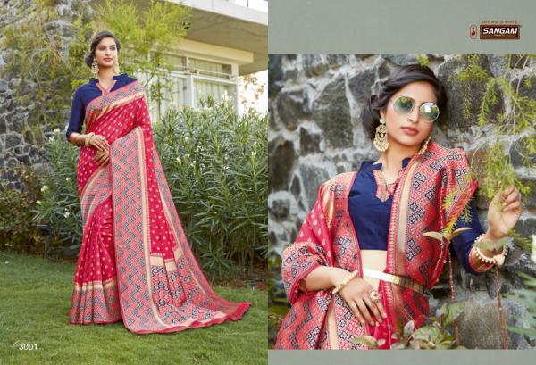 Sangam Prints Rainbow 3001-3006 Series