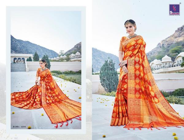 Shangrila Saree Nithya Silk Vol-2 5581-5586 Series