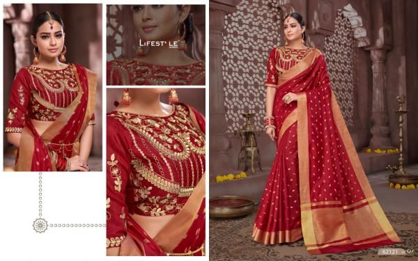 Lifestyle Saree Mandira 62121-62126 Series