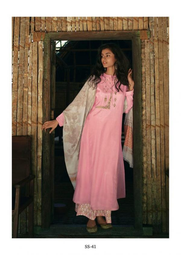Varsha Fashion Song Of Spring SS-41 to SS-46 Series