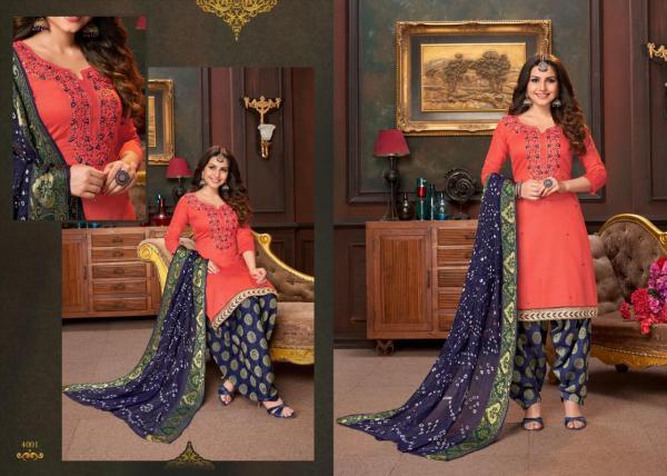 Utsav Suits Suhaana-4 4001-4006 Series