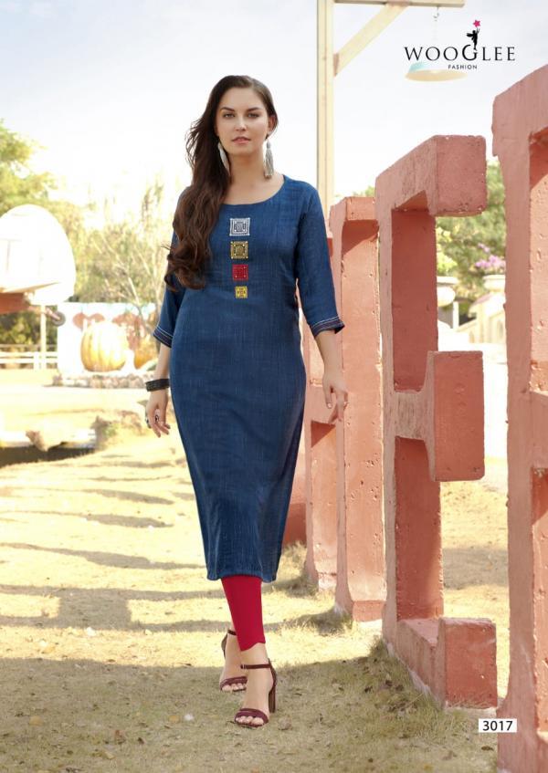 Four Dhaga Wooglee 3017-3024 Series