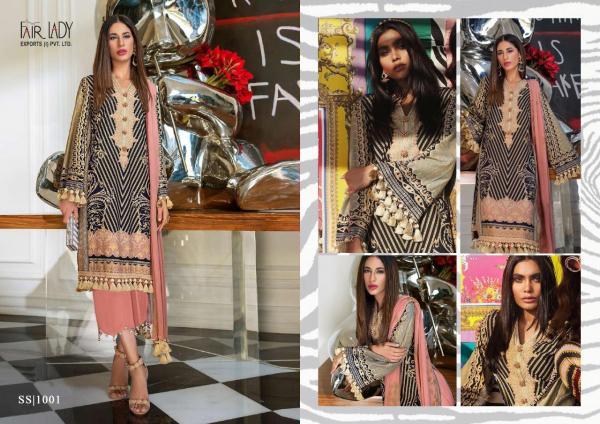 Fairlady Sana Safinaz Hit Design 1001-1005 Series