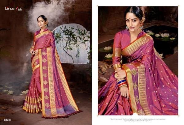 Lifestyle Saree Manbhavan 63261-63266 Series