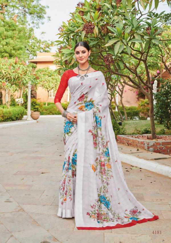 LT Nitya Saree LT Saffron-2 4181-4190 Series