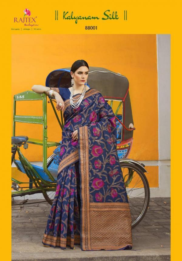 Rajtex Saree Kalyanam Silk 88001-88012 Series