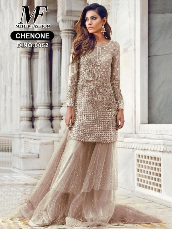 Meher Fashion Chenone 052 Colors