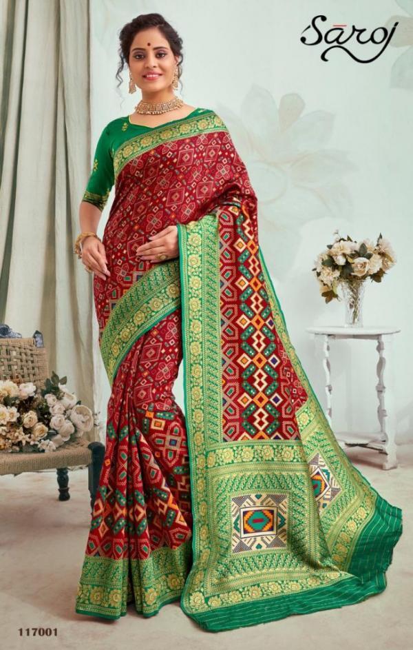 Saroj Saree Ratnalekha 117001-117006 Series