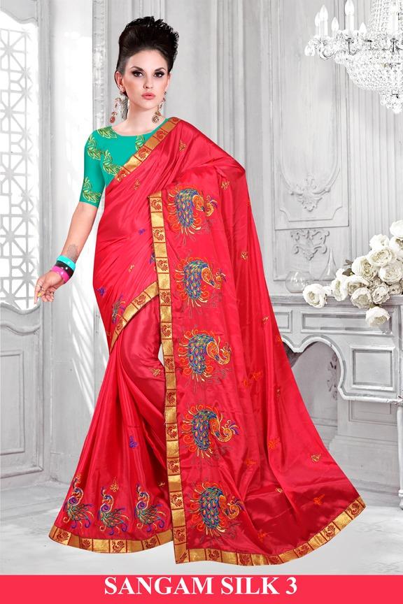 Right One Fashion Sangam Silk Vol-3 101-106 Series