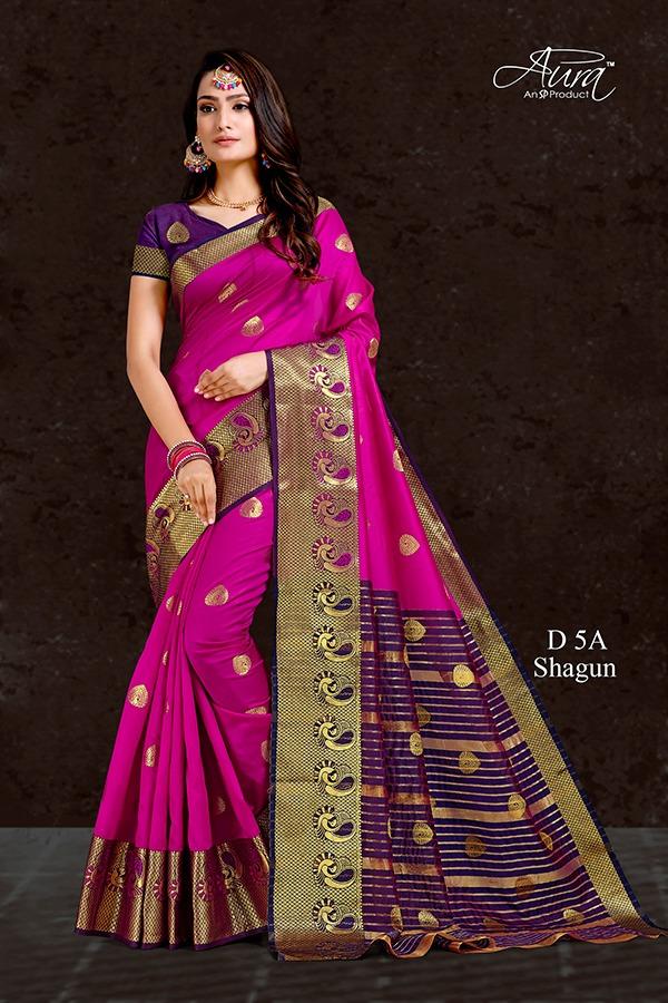 Aura Saree Shagun Vol-5 5A-5G Series