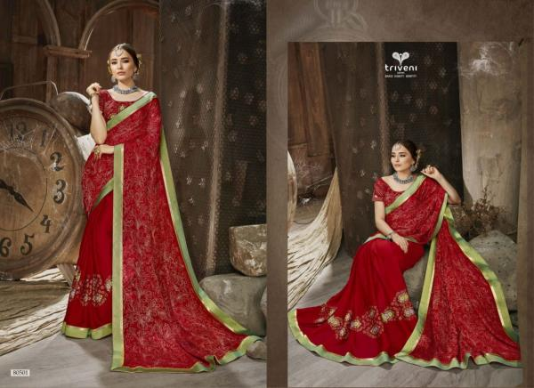 Triveni Saree Amulya 80501-80508 Series