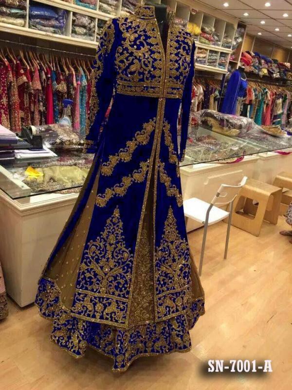 Designer Bridal Collection Fancy Dresses 7001 ABC