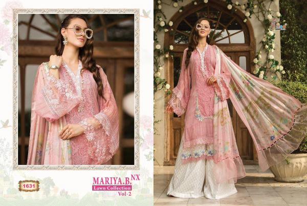 Shree Fabs Mariya B Lawn Collection Vol 2 NX 1631-1638 Series