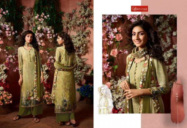 Vishwam Fabrics PVT LTD Cafe Latte Vol-5 1046-1053 Series